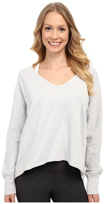 Hard Tail Dolman Sleeve Pullover $96 thestylecure.com