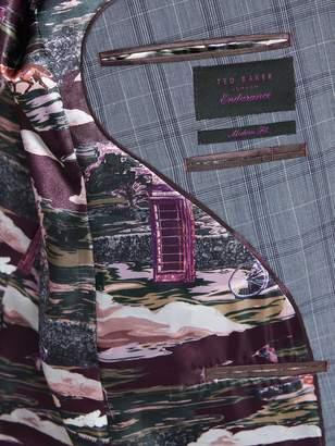 Sterling Check Jacket - Lilac/Grey
