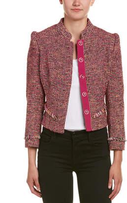 Karen Millen Tweed Wool-Blend Jacket