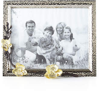 """Michael Aram Gold Orchid 8"""" x 10"""" Picture Frame"""
