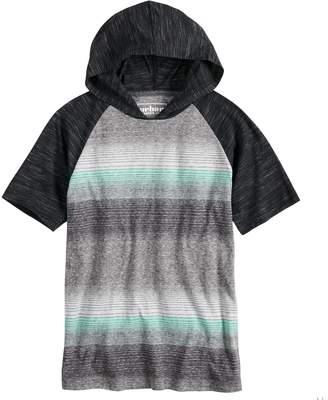 Boys 8-20 Urban Pipeline Striped Hooded Tee