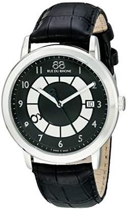 88 Rue du Rhone Men's 87WA130019 Analog Display Swiss Quartz Watch