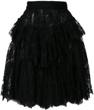 DSQUARED2 lace midi skirt