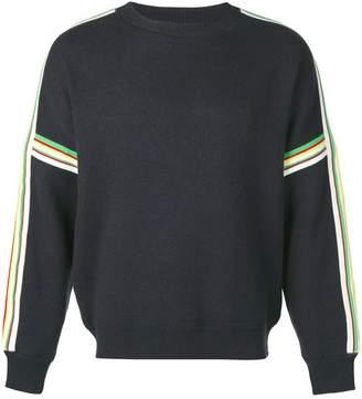 Isabel Marant contrast striped panel jumper