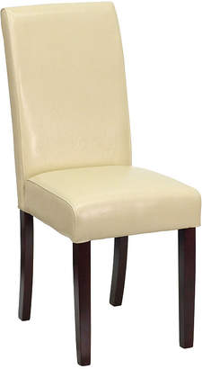 Asstd National Brand Leather Parsons Chair