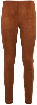 Polo Ralph Lauren Suede Leggings