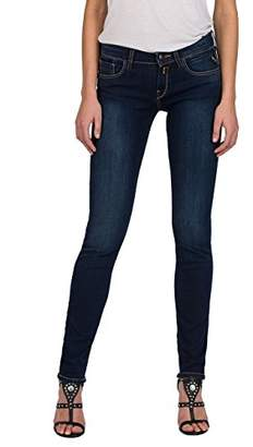 Replay Women's Vicki Straight Jeans, (Dark Blue Denim 7), W30/L30