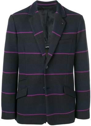 Class Roberto Cavalli striped button blazer