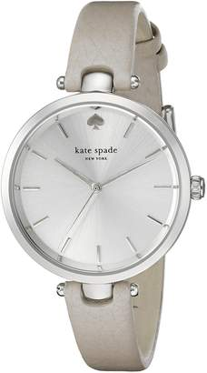 Kate Spade Women's 1YRU0813 Holland Analog Display Japanese Quartz Grey Watch