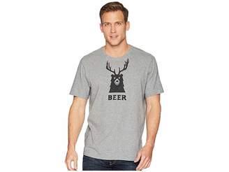 Life is Good Bear + Deer = Beer Smooth Tee