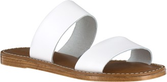 Bella Vita Leather Slide Sandals - Imo