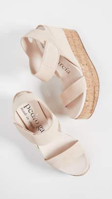 Pedro Garcia Daire Platform Wedge Sandals