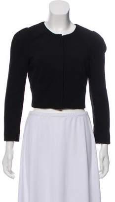 Diane von Furstenberg Cropped Zip-Up Jacket