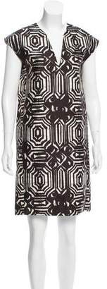 Les Copains Printed Knee-Length Dress w/ Tags