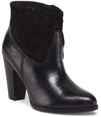 Made In Brazil Western Leather Booties
