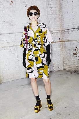 CONTEMPORARY Printed Elastic Waist Skirt