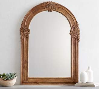 Pottery Barn Mendosa Arch Wood Mirror