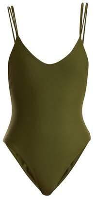 JADE SWIM Duality Swimsuit - Womens - Dark Green
