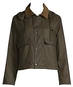 Barbour Women's Margaret Howell Cotton Cropped Jacket