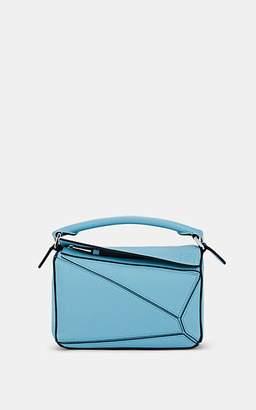 Loewe Women's Puzzle Mini Leather Shoulder Bag - Lt. Blue