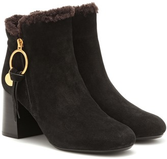 See by Chloe Louise suede ankle boots