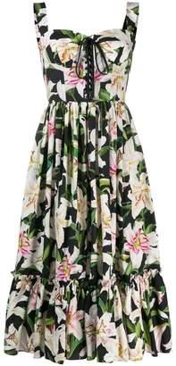 Dolce & Gabbana printed summer dress