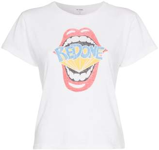 RE/DONE Redone Mouth Slim T-shirt