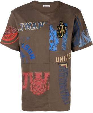 J.W.Anderson patchwork logo T-shirt