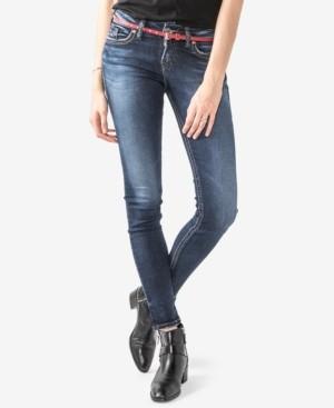 Silver Jeans Co. Juniors' Suki Super-Skinny Jeans