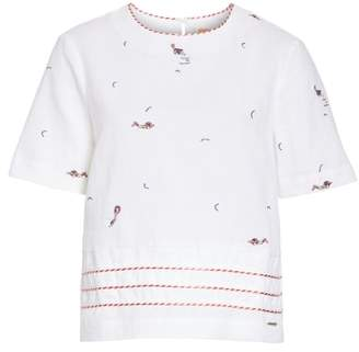 Ted Baker Colour by Numbers Noleen Embroidered Shell