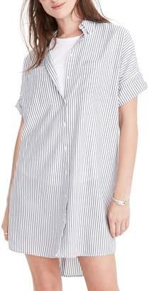 Madewell Central Stripe Shirtdress