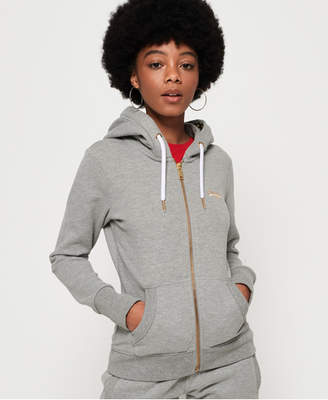 Superdry Orange Label Elite Lightweight Zip Hoodie