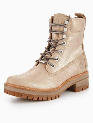 Timberland Courmayeur Valley Yellow Ankle Boot