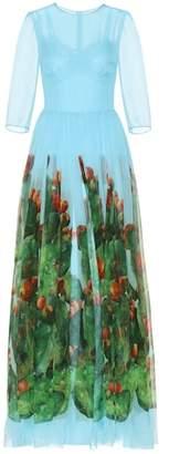 Dolce & Gabbana Exclusive to mytheresa.com – printed silk dress