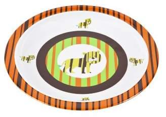 Lassig Dish Plate Melamine, Tiger