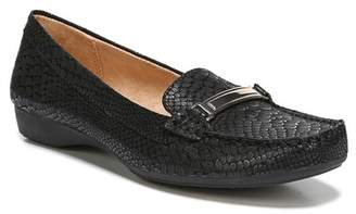 Naturalizer Gadget Snake Embossed Leather Bit Loafer - Wide Width Available