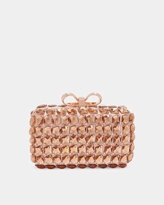 b8f84b12a614 ... Ted Baker CRYSTEY Embellished frame evening bag
