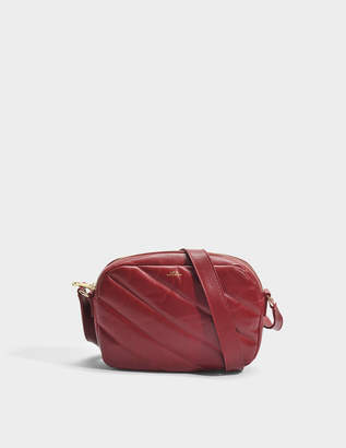 Meryl Bag in Dark Red Smooth Calfskin A.P.C.