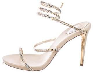 9eab7f93c Rene Caovilla Rhinestone Women s Sandals - ShopStyle