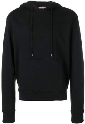Bottega Veneta intrecciato detail hoodie