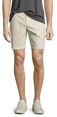 Burberry Tailored Cotton Chino Shorts, Stone $195 thestylecure.com