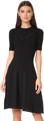 KENZO Knee Length Fit & Flare Dress $485 thestylecure.com