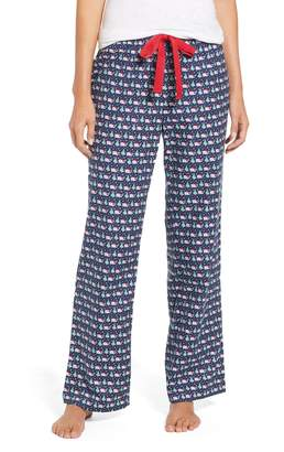Vineyard Vines Santa Whale Lounge Pants