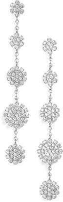 Nordstrom Pave Starburst Drop Earrings