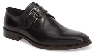 Jump Merlot Single Buckle Monk Shoe