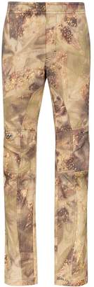 Alyx Gaiter camouflage print trousers