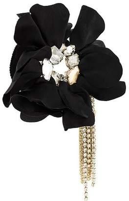 Lanvin flower applique bracelet