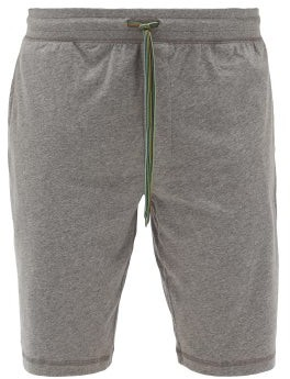 Paul Smith Cotton Jersey Pyjama Shorts - Mens - Grey