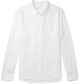 Derek Rose Linen Shirt - Men - White