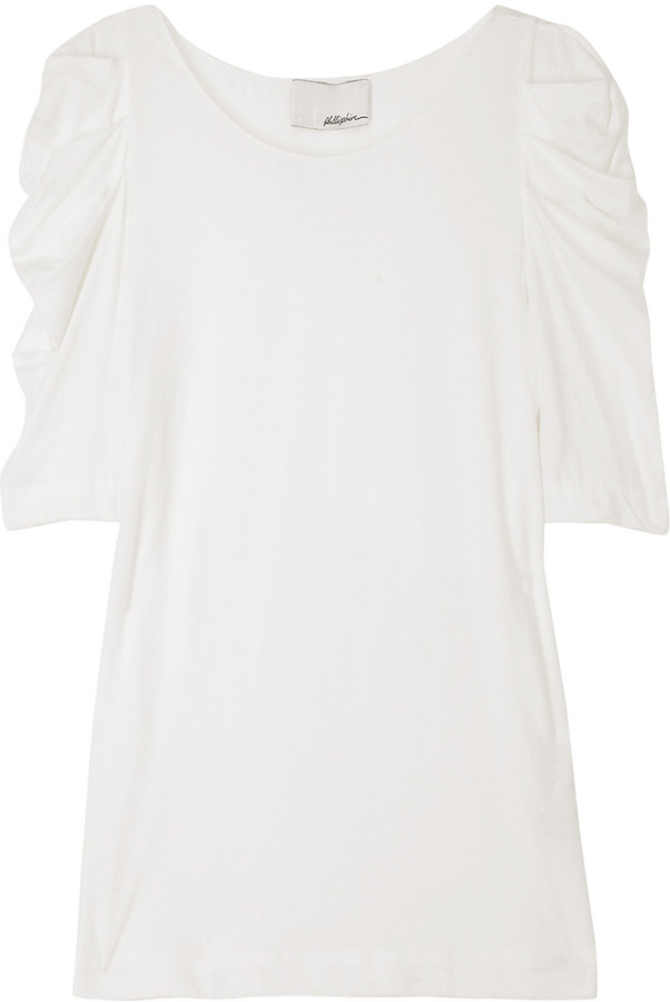 3.1 Phillip Lim Ruched sleeve top